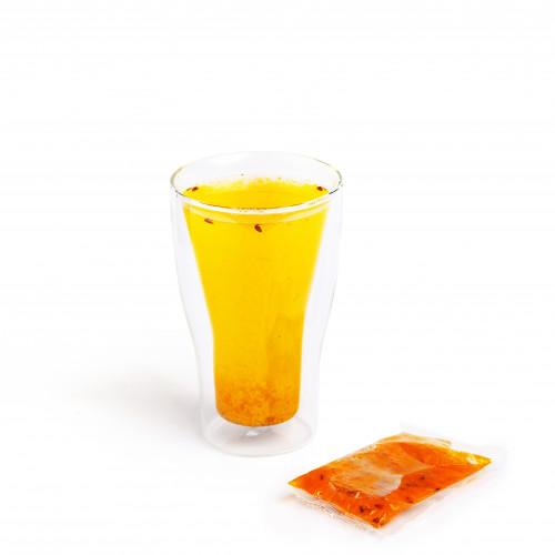 Чай  облепиховый замороженный
