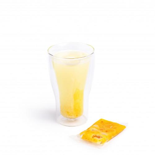 Чай имбирь-лимон замороженный